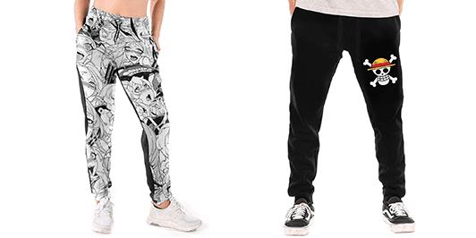 pantalones anime para hombre y mujer